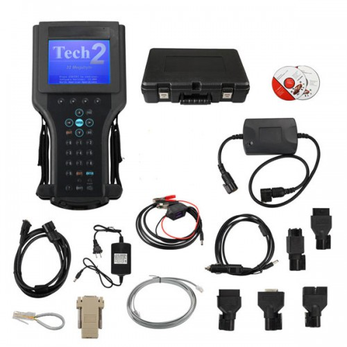 (UK Ship No Tax)Tech2 Diagnostic Scanner with TIS2000 for GM (Works for GM/SAAB/OPEL/SUZUKI/ISUZU/Holden) with Plastic Case