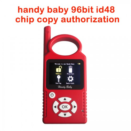 Handy Baby 96Bit ID48 Chip Copy Function Authorization Open Service