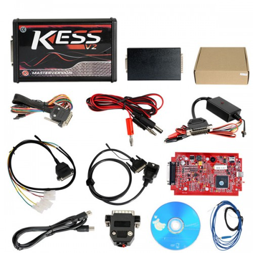 Kess V2 V5.017 Red PCB Online Version V2.47 Plus Ktag 7.020 V2.23 Red PCB EURO Online Version