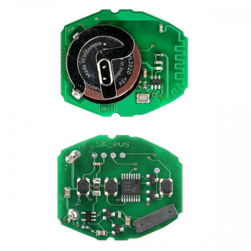 3 Buttons Remote Key Board 433MHZ Rechargeable for BMW