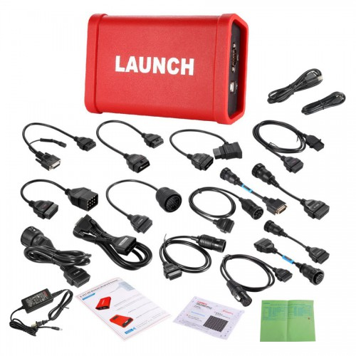 Wifi/Bluetooth  Launch X431 V+ Diagnosti Tool and HD Heavy Duty Truck Diagnostic Module Supports Trucks & Cars