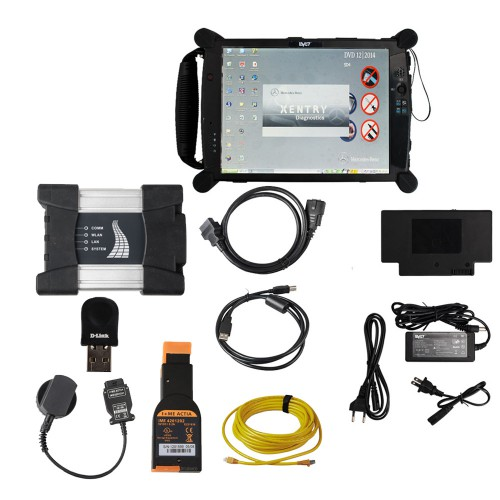 WIFI BMW ICOM NEXT A+B+C with V2019.07 Software Plus EVG7 8GB Diagnostic Controller Tablet PC