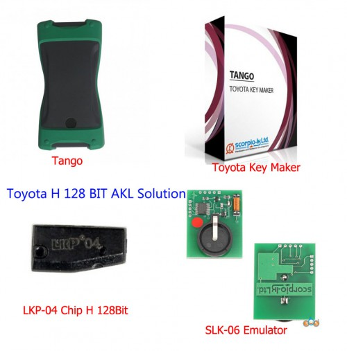 Original Scorpio-LK Tango SLK-06 Emulator LKP-04 Toyota H 128 Bit Immobilizer All Keys Lost Solution Package