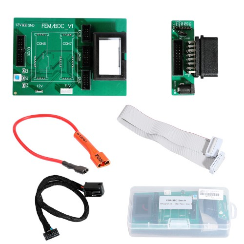 BMW FEM BDC Bench Integrated Interface Board for Yanhua Mini ACDP & Any FEM Key Programming Devices Free Shipping