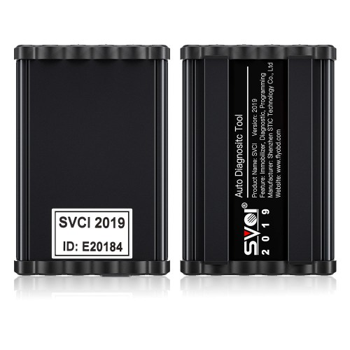 (UK Ship,No Tax) 2019 SVCI (FVDI) Commander Auto Diagnostic Tool for most Cars with 18 Software