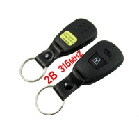 Newest 2 Button Remote Key 315MHZ for Hyundai Elantra with free shipping