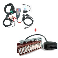 Best Offer Diagnostic Tool for Lexia-3 Citroen/Peugeot Plus 30 pin Cable for Lexia-3 (Square Interface)
