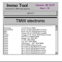 Best Price IMMO TOOL V26.12.2007