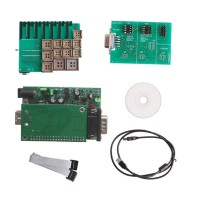 New UPA USB Programmer V1.2 with Full Adaptors Green Color