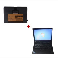 V2015.10 New ICOM A2+B+C Diagnostic & Programming Tool FOR BMW Plus New Second Hand Lenovo