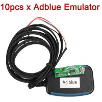 10pcs/lot Ad-blue-obd2 Emulator 7-in-1 with Programming Adapter