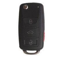 3 Button Remote Key 433MHZ with ID46 Chip for 2008 VW Touareg Made In China
