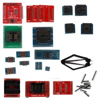 Full Set 21pcs Socket Adapters for Super Mini Pro TL866A/TL866CS EEPROM Programmer