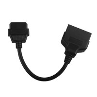 Super 22pin to 16pin OBD1 to OBD2 Connect Cable for TOYOTA