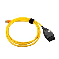 BMW ENET (Ethernet to OBD) Interface Cable E-SYS ICOM without Software Free Shipping
