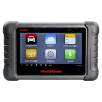AUTEL MaxiDAS DS808 OBD2 Scanner Handheld Touch Screen Autel Diagnostic Tools Free Update Online