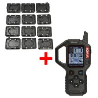 Original V2.4.1 Xhorse VVDI Key Tool Remote Key Programmer American Version With Full Set 12pcs EEPROM Adapter Express Free Shipping
