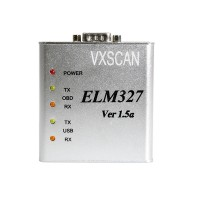 ELM 327 1.5V USB CAN-BUS Scanner ELM327 Software Free shipping