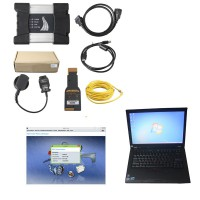 V2018.12 BMW ICOM Next  A+B+C with Second Hand Lenovo T410 Laptop I5 CPU 4GB