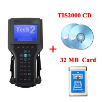 GM Tech2 Diagnostic Scanner For SAAB,OPEL,SUZUKI,ISUZU,Holden with TIS2000 Software Full Package without Carrying Case