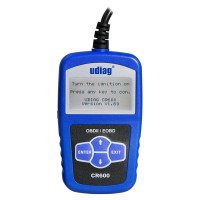 UDIAG CR600 Universal Car Engine Code Reader CAN Diagnostic Tool Free Shipping