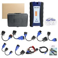 Bluetooth NEXIQ-2 USB Link + Software Diesel Truck Interface and Software with All Installers