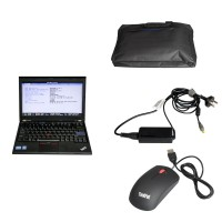 Second Hand Laptop Lenovo X220 I5 CPU 1.8GHz WIFI With 4GB Memory Compatible with BENZ/BMW/Porsche/ODIS Sofware HDD