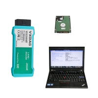 WIFI VCX NANO Ford/Mazda, JLR or GM/Opel with Latest Software 500GB HDD Pre-installed on Lenovo X220 Laptop