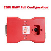 CGDI Prog BMW Key Programmer Full Configuration Total 22 Authorizations with Reading 8 Foot Chip Free Clip Adapter