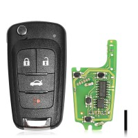 XHORSE XKBU01EN Universal Remote Key Fob for Buick working with Xhorse VVDI Key tool Englisch Version
