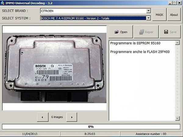 immo-universal-decoding-remove-the immo-code-of-ecu-obd365