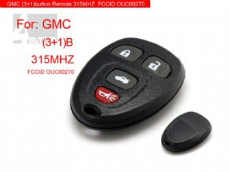 Remote 4 Button 315MHZ for GMC