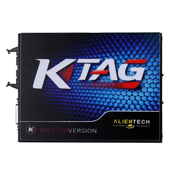 V2 13 KTAG K-TAG ECU Programming Tool Master Version With 500 tokens No  Checksum Error