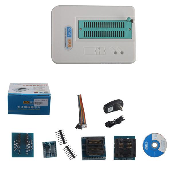 SOFi SP8-F USB Programmer Offline Programming EEPROM SPI BIOS