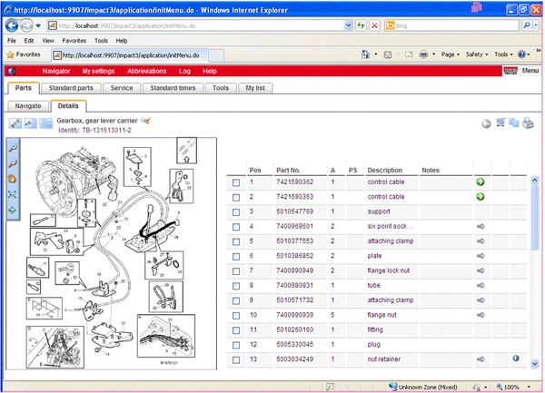 Impact 2015a Spare Parts Catalog For Renault Trucksrhobdii365: Renault Truck Spare Parts Catalogue At Cicentre.net