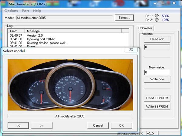 MAZDA OBD2 TOOL Software