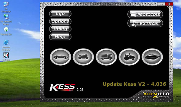 newest version for kess v2 truck version