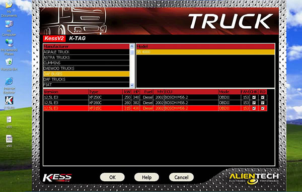 Latest Truck KESS V2