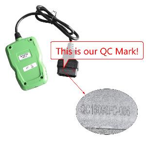 OBDSTAR F108  qc mark