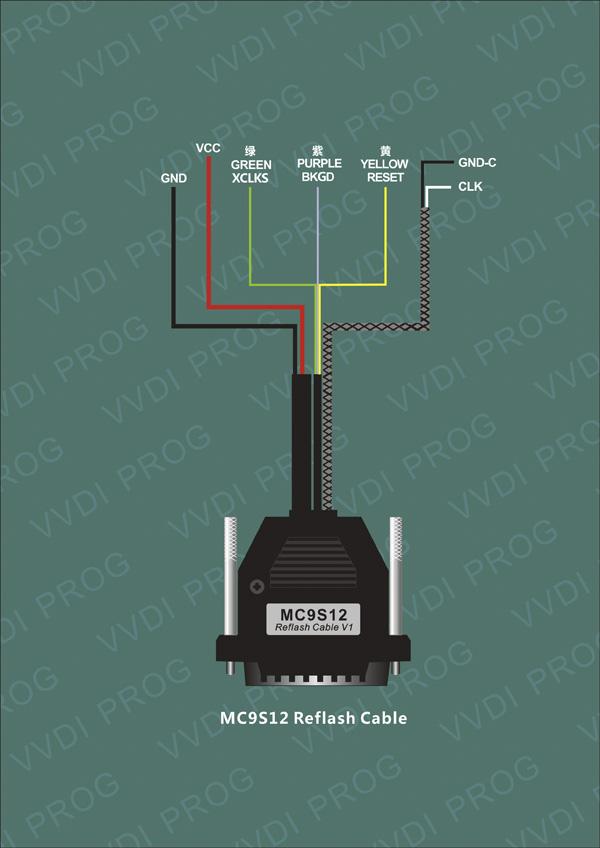 vvdi-prog-programmer-mc9s12-reflash-cable