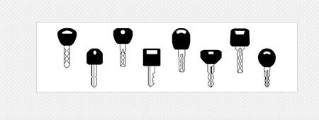 SEC-E9 supports various types of key cutting