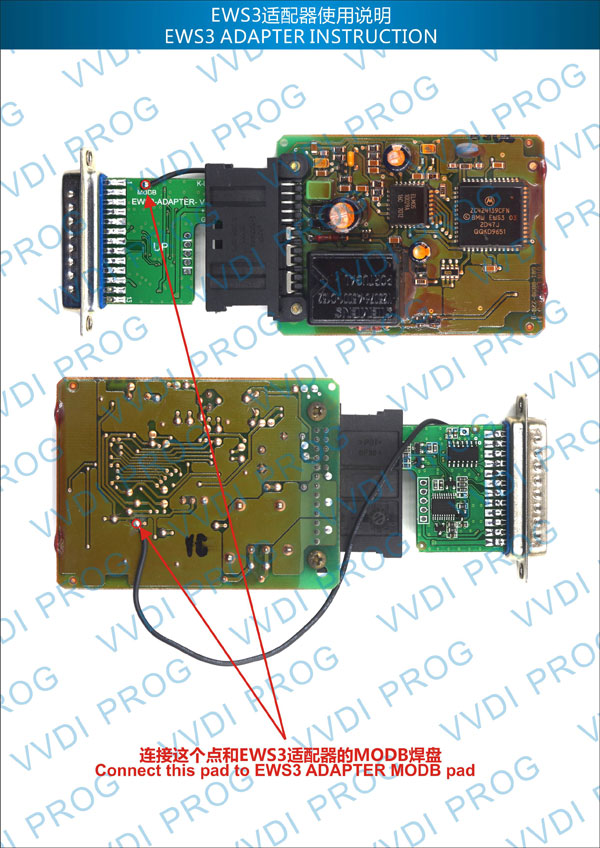 Xhorse EWS3 Adapter for VVDI Prog Programmer 2