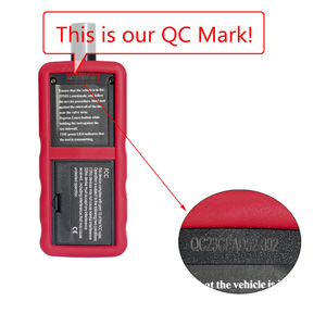 VXSCAN EL-60448 Ford TPMS Reset Tool? QC MARK