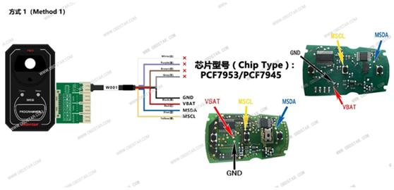 obdstar-p001-w001-wiring