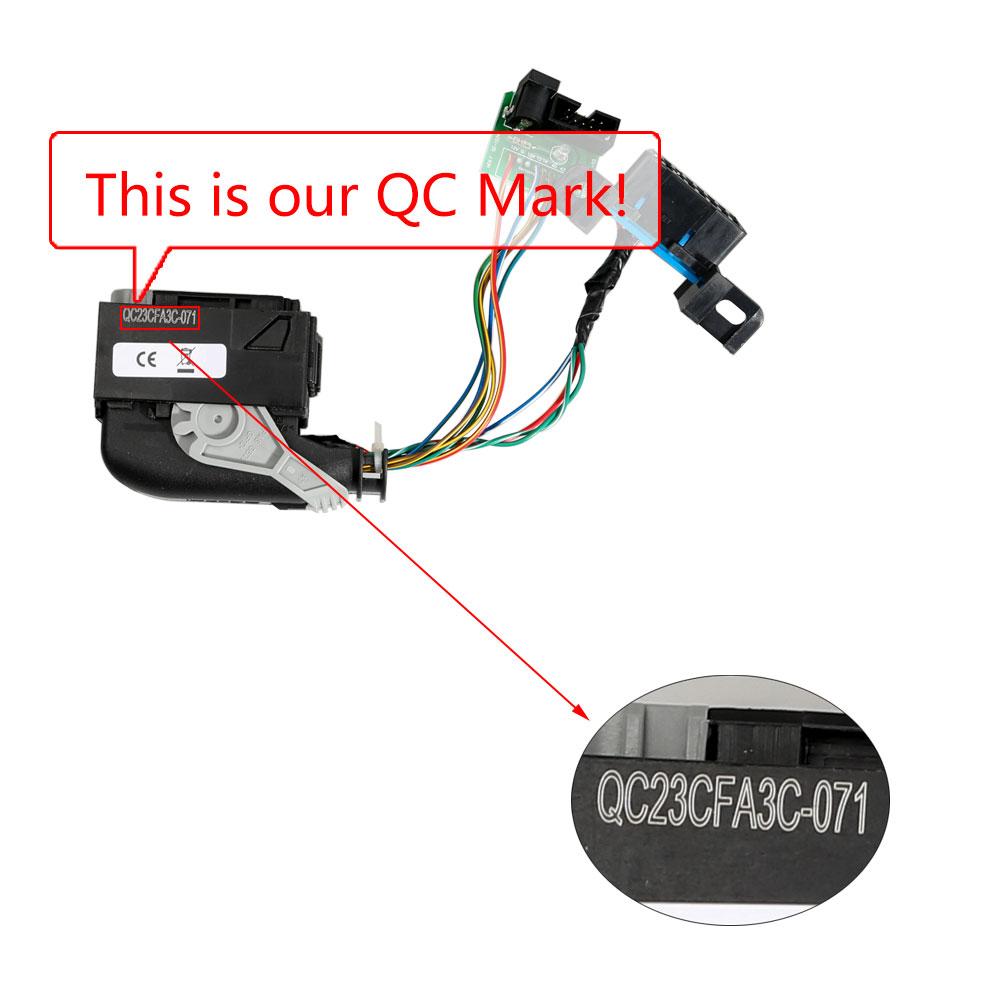 Mercedes Benz ECU ME9 7/272-273/ Renew Cable for KTM100 KTAG