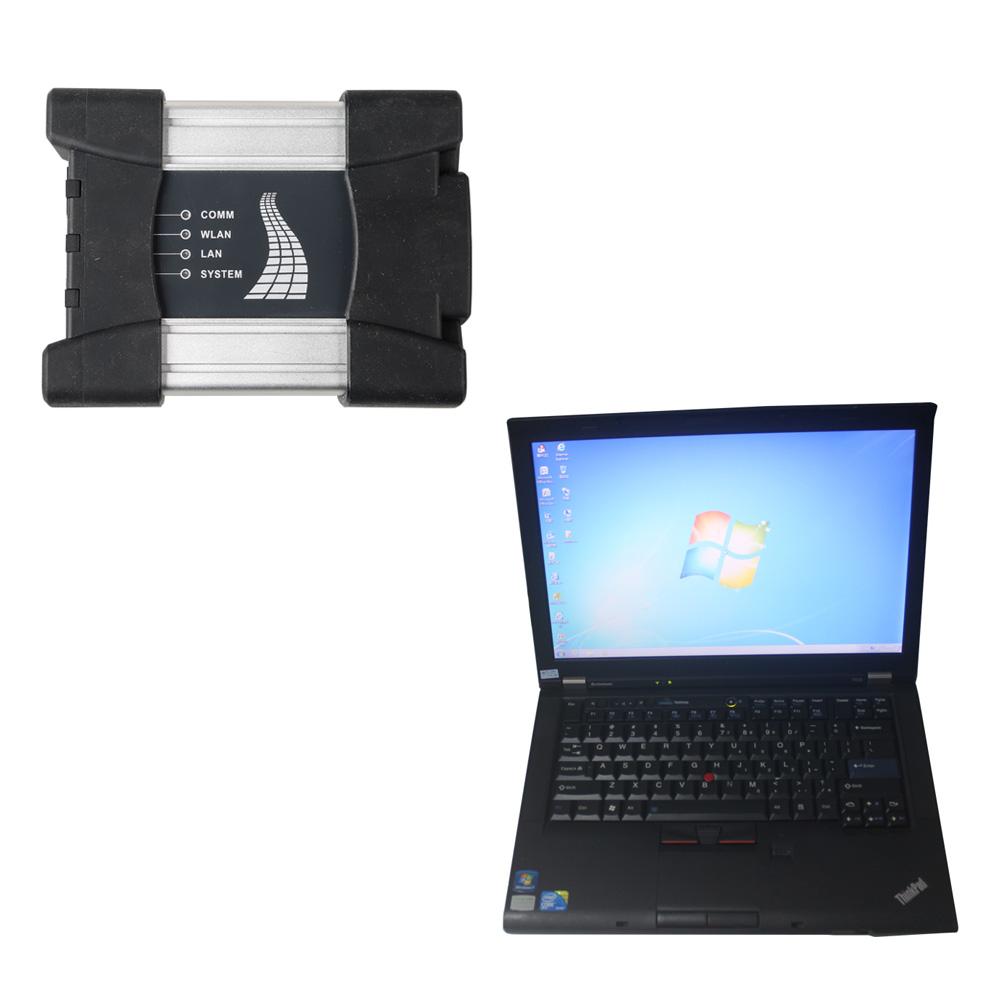2019 07 Wifi BMW ICOM NEXT A+B+C with Second Hand Lenovo T410 Laptop I5 CPU  4GB