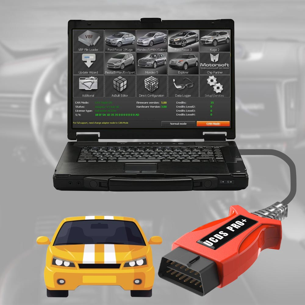 Newest Ford UCDS Pro+ Ford UCDSYS with UCDS V1 26 008 Full License Software