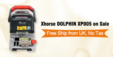 Xhorse DOLPHIN XP005 Key Cutting Machine