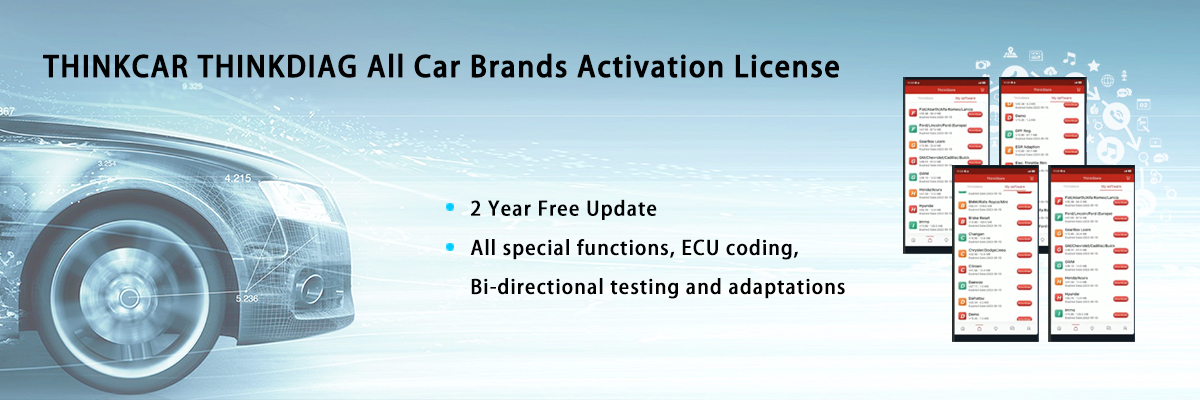 THINKDIAG All Car Brands Activation License