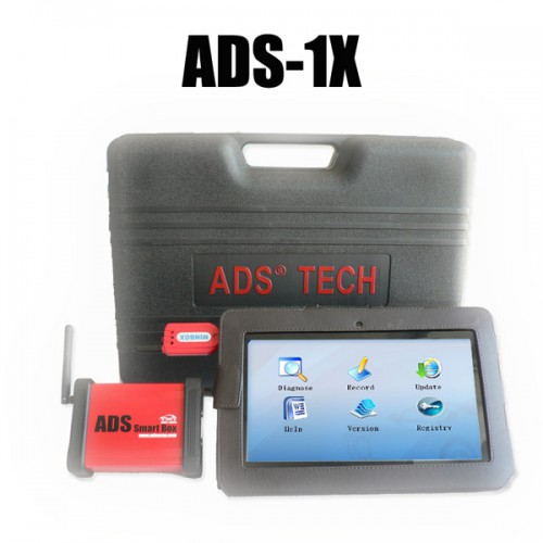 ADS-1X Bluetooth Universal Cars Handheld Fault Code Scanner with Tablet Computer